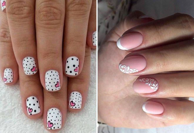 маникюр 2017 модные тенденции на короткие ногти