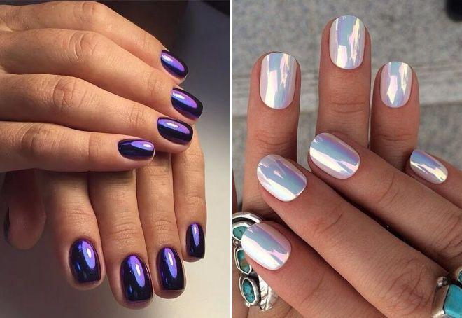 стильный маникюр 2017 на короткие ногти