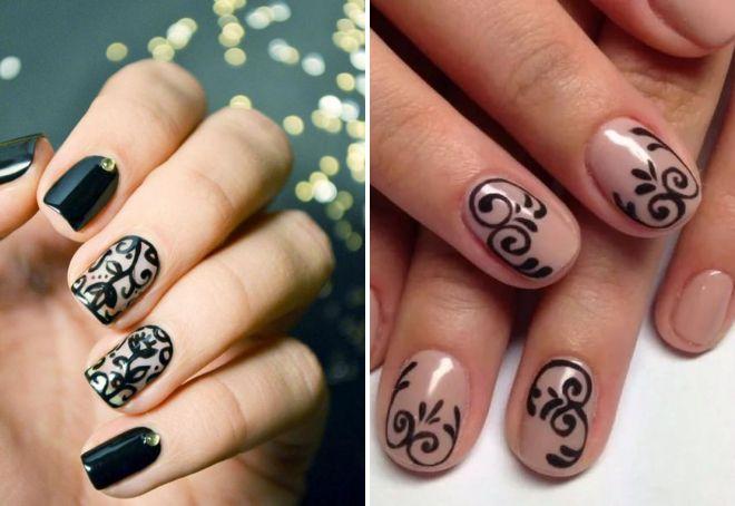 модный маникюр 2017 на короткие ногти