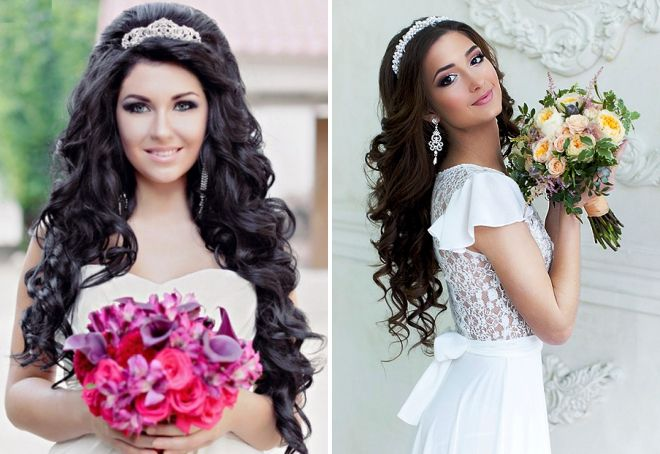 Свадебные прически - стили и их варианты; описание, как