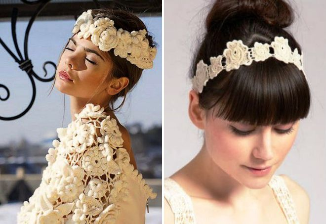 Красивые свадебные украшения для волос – как выбрать ...