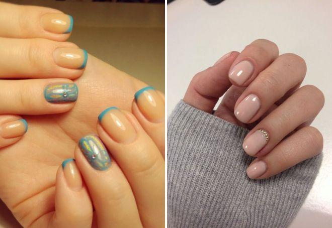 короткие ногти 2017