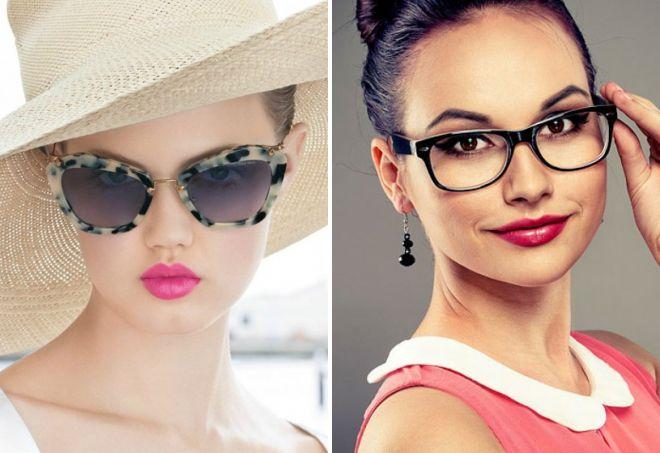 Очки для круглого лица женские 2017 для зрения