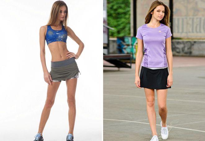 спортивная юбка шорты