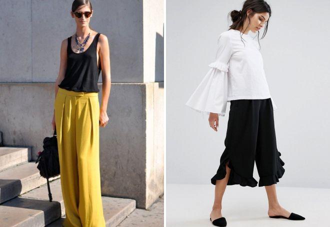 длинная юбка шорты