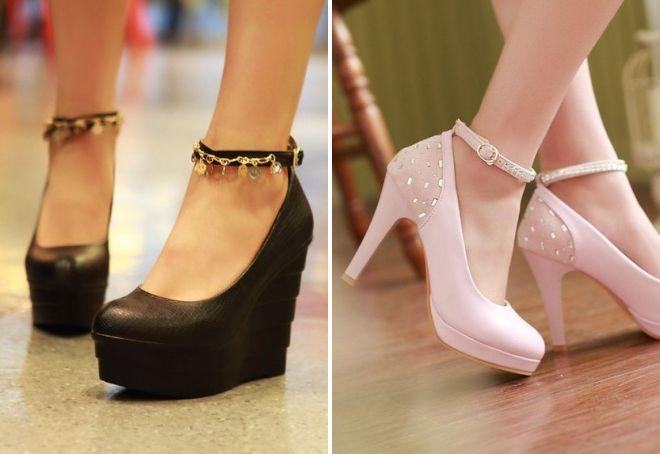 женские туфли осень 2017