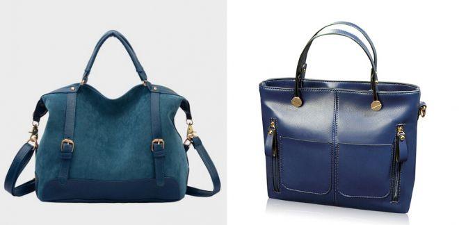 большие синии сумки 2017