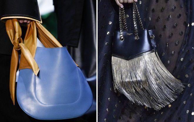 модные синие сумки 2017