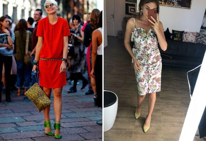 Туфли оливкового цвета