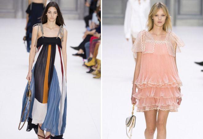 Пляжные платья и туники 2017