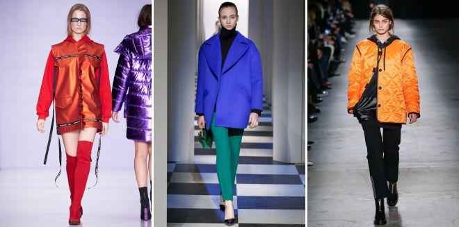 модные цвета курток весна 2018