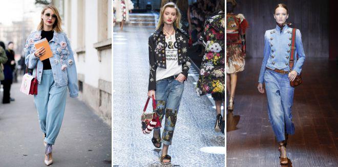 джинсовые куртки весна 2018