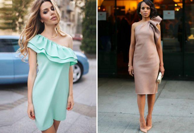 Мода 2017 платья с воланами