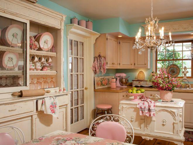 шик в интерьере кухни