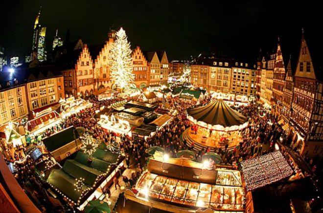где встретить новый год в европе