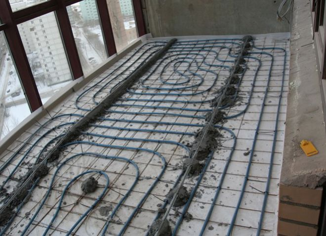 Пол на балконе - как утеплить пол на балконе и чем его покры.