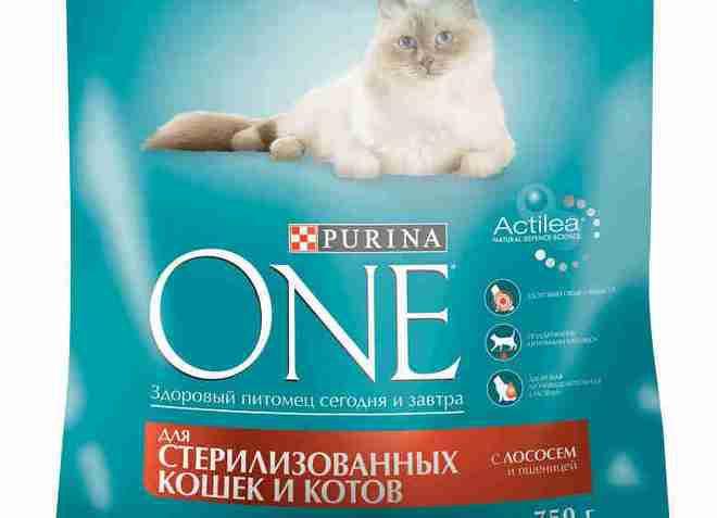 корм пурина для стерилизованных кошек