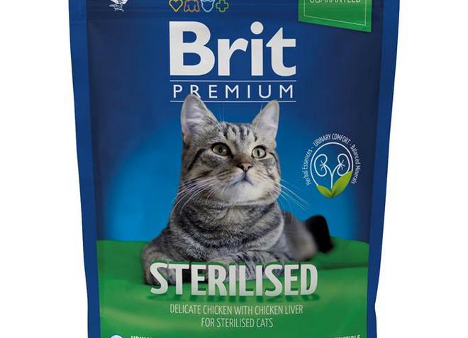 корм брит для стерилизованных кошек