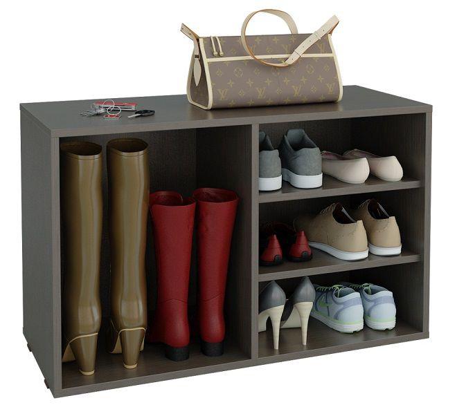 Открытая тумба для обуви