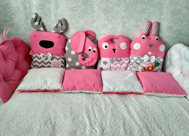 декор подушек для детской