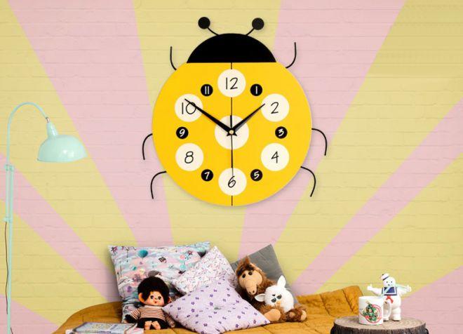 декор настенных часов в детскую
