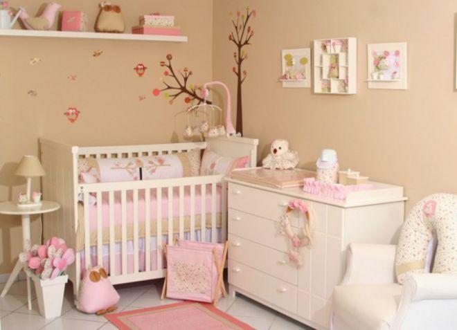 декор детской для новорожденного