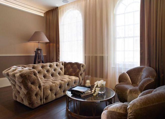 занавески под цвет мебели