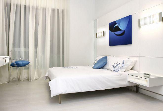 Кровать в cпальне по фен шуй