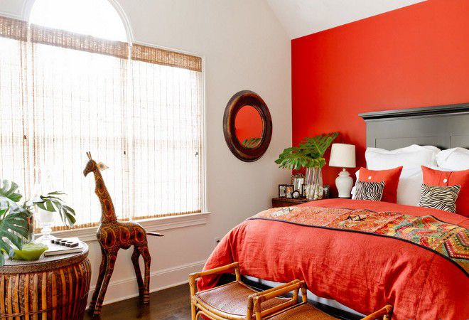 красная спальня по фэн шуй