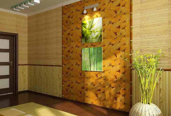 Бамбук в спальне по фен шуй