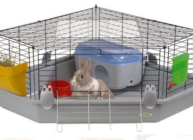 клетка для декоративного домашнего кролика