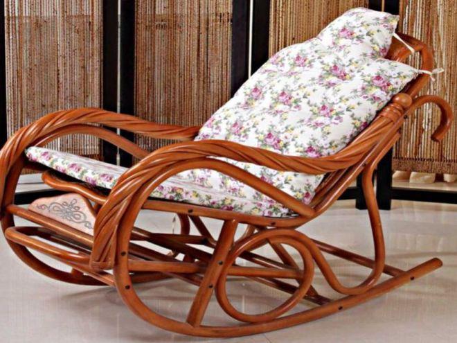 Интерьер плетеные столики со стеклянными столешницами и кресла-качалки если столешницы из искусственного камня акрила
