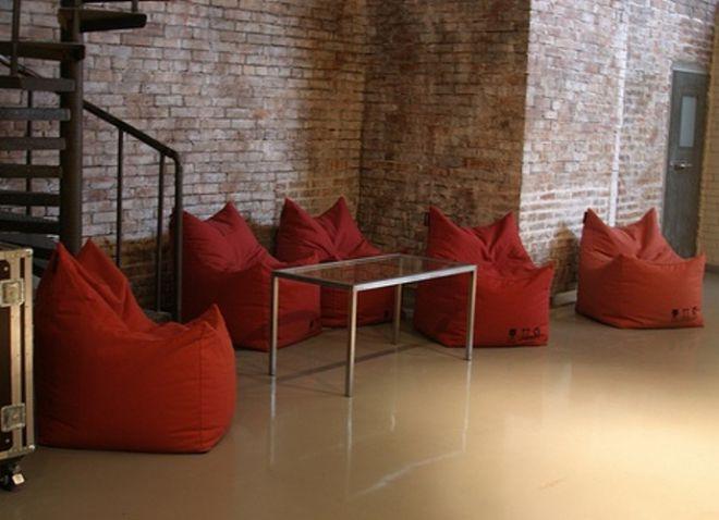 Бескаркасная мебель в интерьере