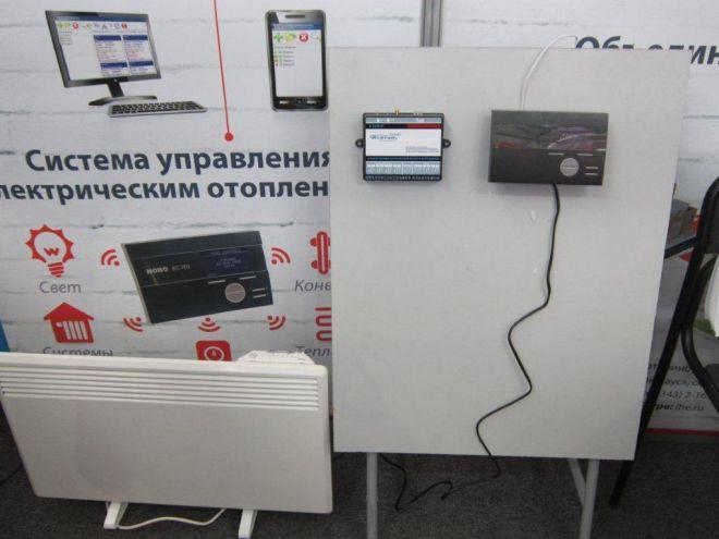 Электрические конвекторы с дистанционным управлением