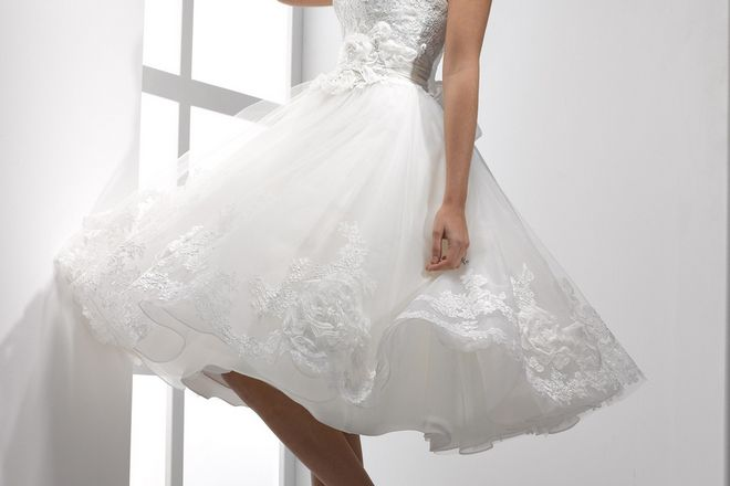 как накрахмалить свадебное платье