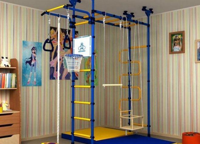 спортивный уголок для квартиры