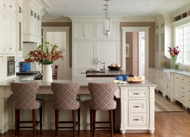 дизайн маленькой проходной кухни