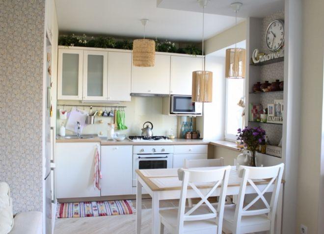 маленькая кухня прованс