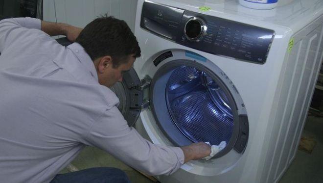 плесень на резинке стиральной машины