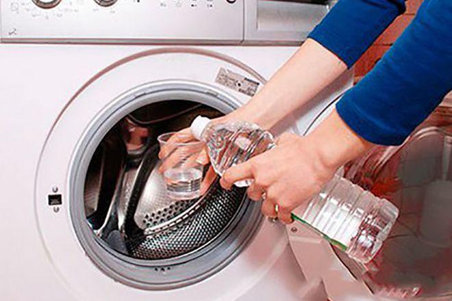 очистить стиральную машину от плесени уксусом
