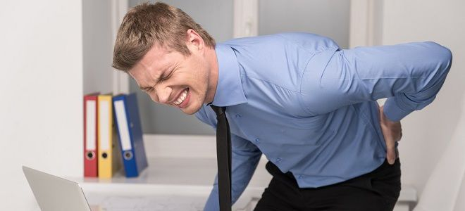 Снятие спазма мышц спины