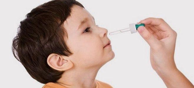 Капли в нос от аллергии названия