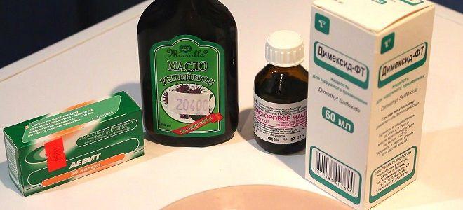 Димексид для волос – маска для волос с Димексидом и витаминами