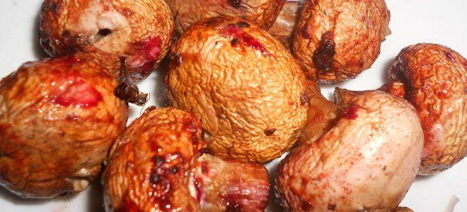 шампиньоны на мангале рецепт маринада с паприкой