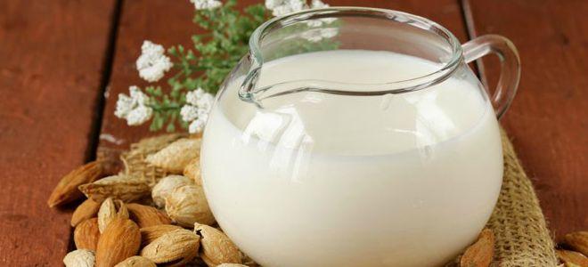 чем полезно миндальное молоко