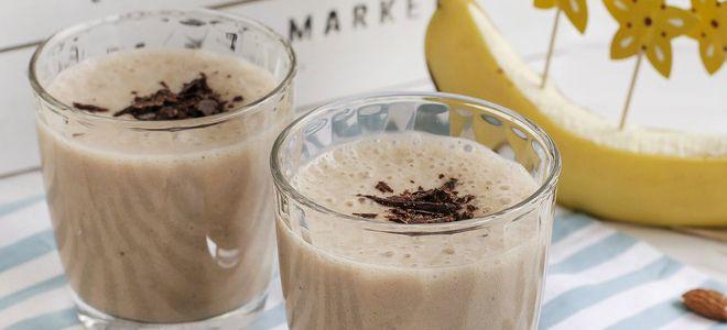 какао на миндальном молоке рецепт