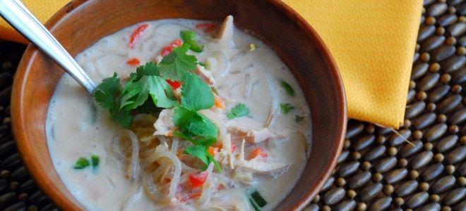 куриный суп с вермишелью и болгарским перцем
