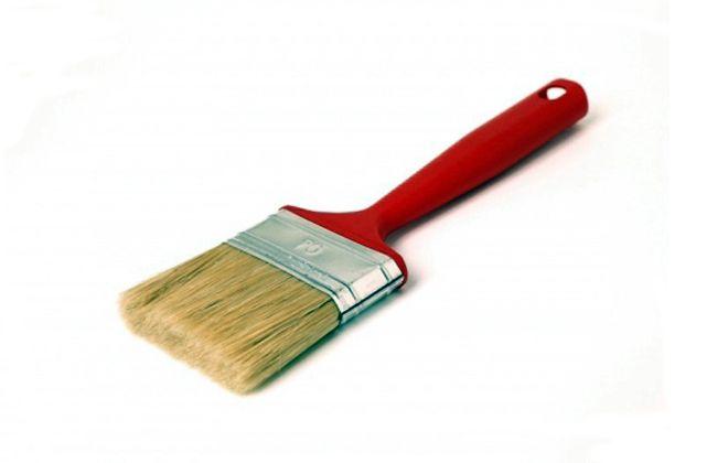 кисти для покраски стен плоская