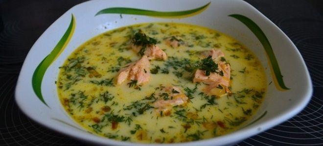 рыбный суп из консервов форели