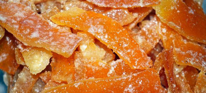 цукаты из апельсина